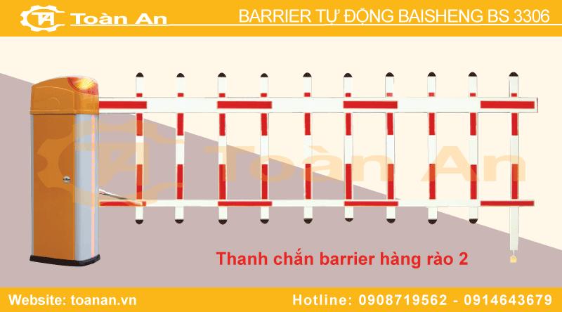 Barrier bisen bs 3306 sử dụng thanh chắn hàng rào.